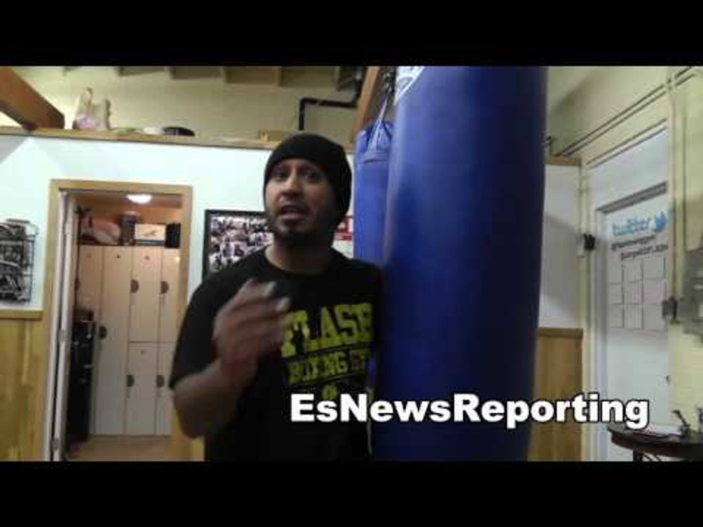boxing working on power shots EsNews Boxing