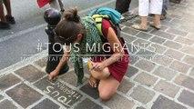 #Tous migrants - Les collectifs de soutien manifestent devant la préfecture de Gap