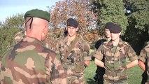 L'école spéciale militaire de Saint-Cyr au camp des Garrigues - octobre 2012