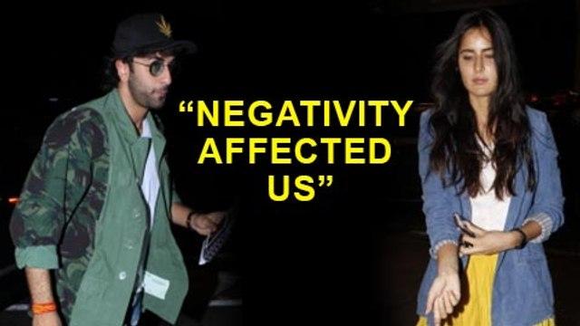 Katrina Kaif And Ranbir Kapoor AFFECTED By Negativity While Doing Jagga Jasoos  Jagga Jasoos Making