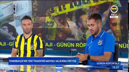 Mathieu Valbuena FB TV'ye Konuk Oldu