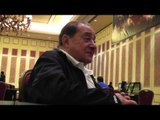 Bob Arum on Great fighters