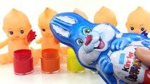 Bebé cuerpo colores compilación abajo familia dedo mano Aprender vivero pintar rimas con color