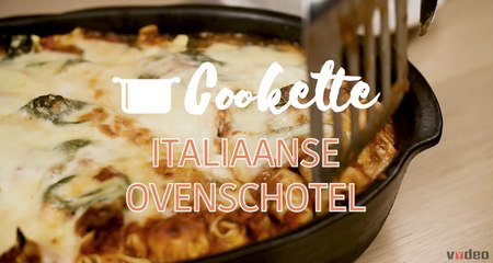 Cookette: tortellini in the oven? Yes, and it looks SO good.