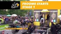 Froome- Étape 1 / Stage 1 - Tour de France 2017