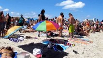 MIAMI. Student holidays at South Beach. Florida. USA.