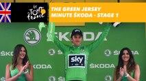 The ŠKODA green jersey minute - Stage 1 - Tour de France 2017