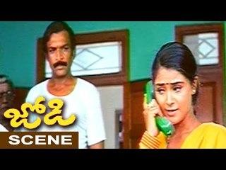 Simran Tries To Impress Prashanth Family - Comedy Scene || Jodi Movie Scenes
