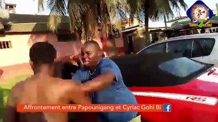 #Hashtag - Bagarre entre Papounigang et Cyriac Gohi Bi