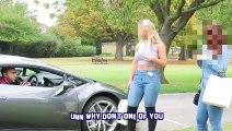 """VIDEO/ """"Ik o p*rdhu se po flas në telefon"""", vajza refuzon djalin por kur sheh mjetin e tij luksoz…"""