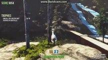 Cabra simulador Todos objetos de colección dorado cabra trofeos en tratar difícil logro
