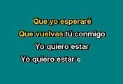 Alejandra Guzmán -  Quiero estar contigo (Karaoke)