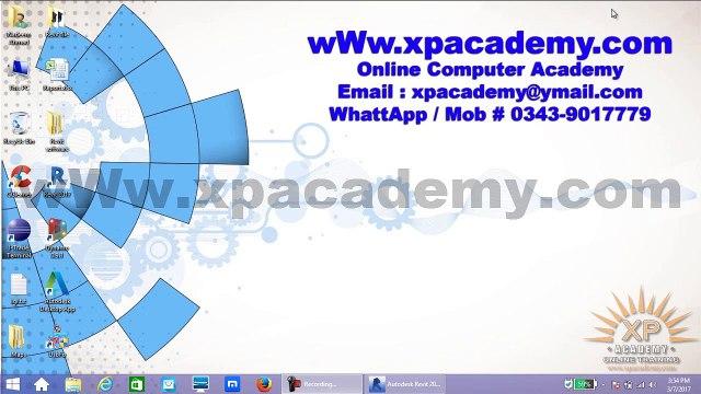 Revit Options Bar urdu tutorials   xpacademy
