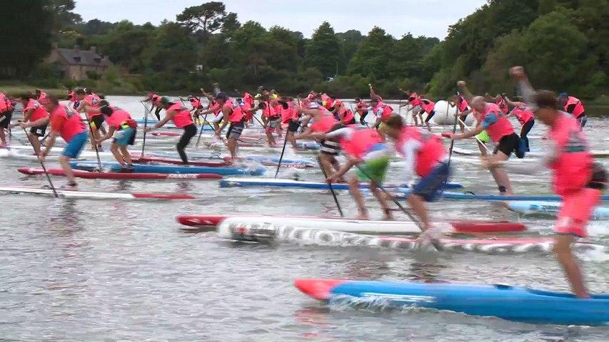 Morbihan: Paddle-Trophy 2017 Day 1 - Bretagne Télé