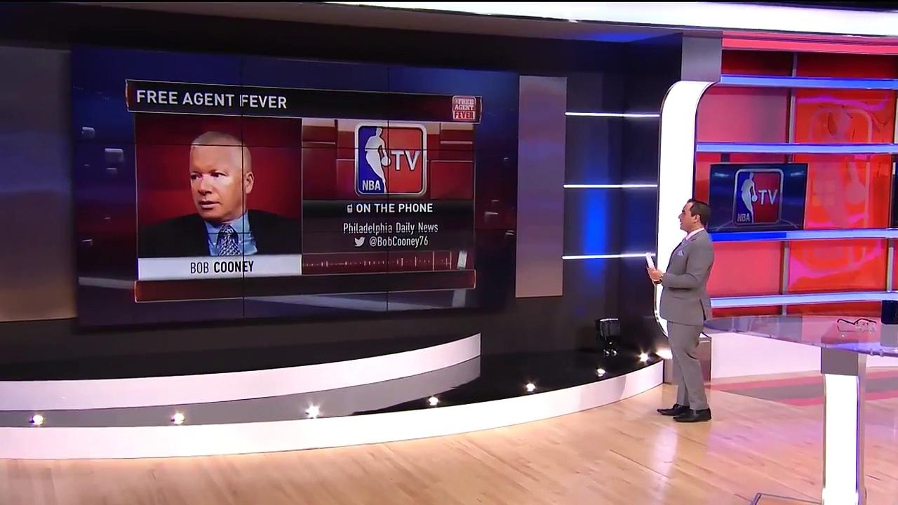 【NBA】JJ Redick & Amir Johnson Sign With the Philadelphia Sixers  2017 NBA Free Agency