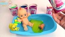 Et bébé argile les couleurs couleurs poupée mousse Apprendre vase jouets Surprise de la pluie arc-en-ciel