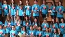 Slovenski otroški zbor 2014 - HOTARU KOI (Japonska otroška pesem, prir. Ro Ogura)