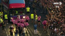 WorldPride-Parade in Madrid: Tanz bis spät in die Nacht