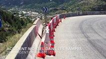 Hautes-Alpes : une voiture en feu après une chute de plusieurs dizaines de mètres, le conducteur carbonisé