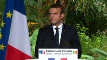 Discours d'Emmanuel Macron devant la communauté française du Mali