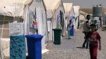 Las altas temperaturas, la nueva amenaza para los desplazados iraquíes