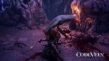 CODE VEIN Gameplay Trailer 2017 (Anime Dark Souls Game)