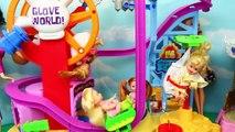 BARBIE Wheelchair Part 2 Barbie Amusement Park Fail Sends Her to The Doll Hospital Bad Doc