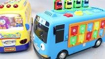 Autobus des voitures école jouet jouets machines dessins animés pro Pororo Pororo toy boy autobus scolaire attraper un автобус bus