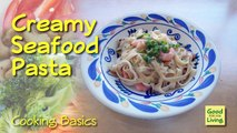 Cómo hacer pastas pastas pastas recetas camarón para Alfredo