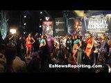 ORLANDO CRUZ first gay boxer vs Orlando Salido weigh in faceoff - EsNews Boxing