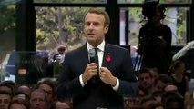 « Les gens qui réussissent et les gens qui ne sont rien » Emmanuel Macron