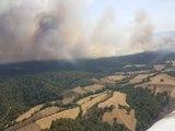 Çanakkale Tarım Arazisinde Çıkan Yangın Ormana Sıçradı