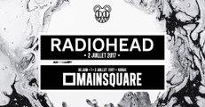 """"""" No surprises """" par Radiohead le 02 juillet 2017 au Main Square Festival d'Arras"""