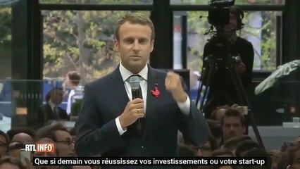 Macron crée la polémique en évoquant les gens qui ne sont rien