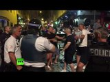 'Fists of Rage': French police teargas England fans clashing with locals ahead of Euro 2016