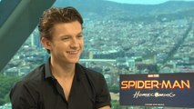 Exclusive Interview: 'Spider-Man' Tom Holland says he's still just a normal guy