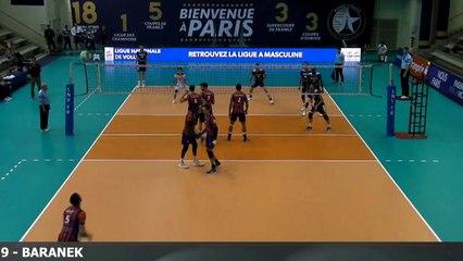 Kamil BARANEK pos 4 navy blue jersey #9 (Paris Volley) - Highlight French League Season 2016-2017