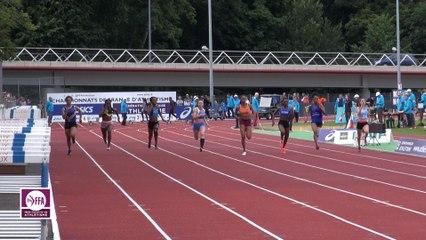Dreux 2017 : Finale 100 m Cadettes