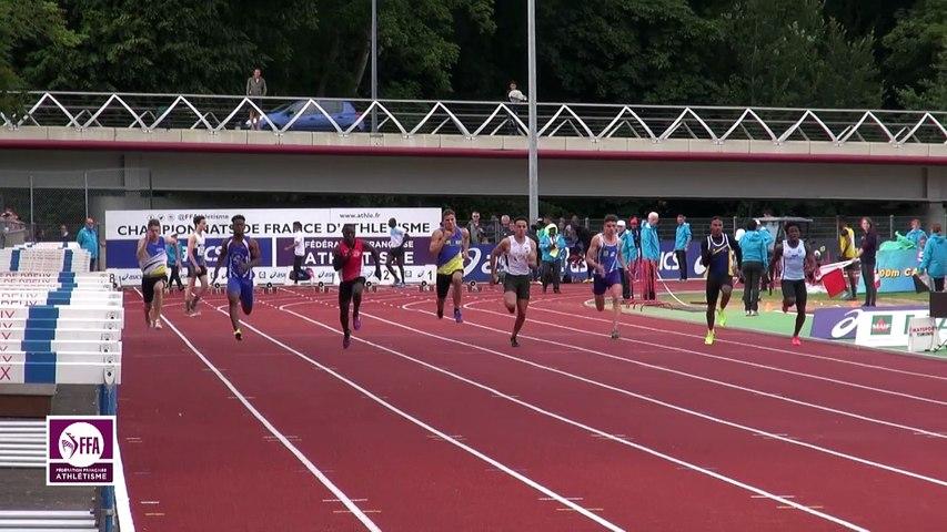 Dreux 2017 : Finale 100 m Cadets