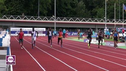 Dreux 2017 : Finale 100 m Juniors Garçons