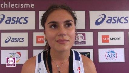 Alexa Lemitre : « Ma chute me prive peut-être du record »