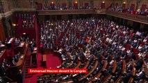 """""""Ce mandat du peuple, quel est-il exactement ? Il faut sortir de ce climat de faux procès"""", Emmanuel Macron au #CongresVersailles"""