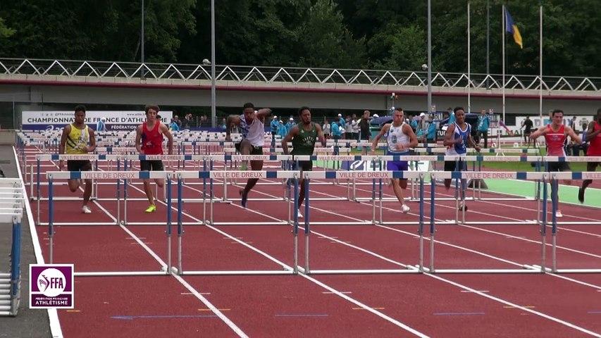 Dreux 2017 : Finale 110 m haies Juniors