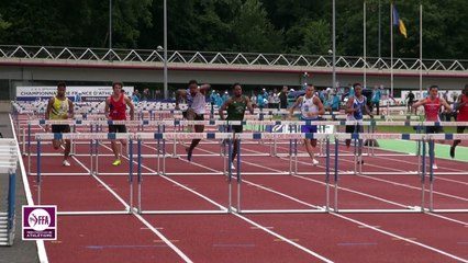 Dreux 2017 : Finale 110 m haies Juniors