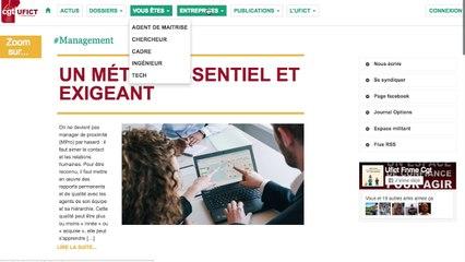 Présentation du site ufictfnme.fr