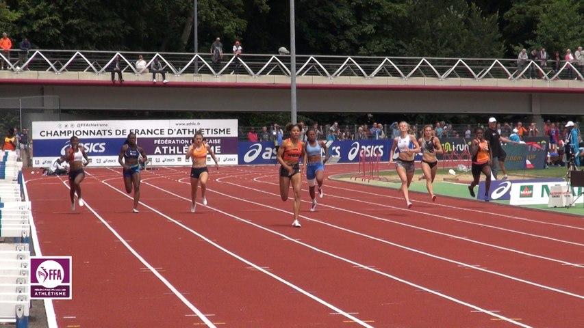 Dreux 2017 : Finale 200 m Juniors Filles