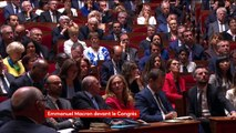 """Réforme des institutions : Macron souhaite une réalisation """"d'ici un an"""", il recourra au référendum """"si nécessaire"""" #CongresVersailles"""