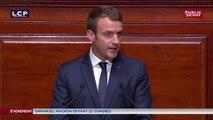 Congrès : « Le pluralisme s'impose », déclare Emmanuel Macron