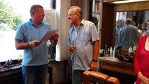 Antoing: une fête pour Alain Besard le coiffeur