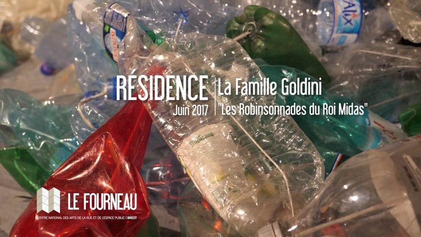 """RÉSIDENCE 2017 : """"Les Robinsonnades du Roi Midas"""" - La Famille Goldini"""